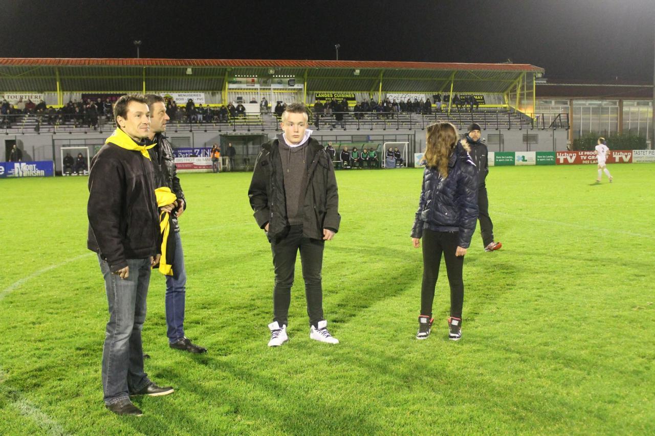Coup d'envoi Stade Montois Foot 2015