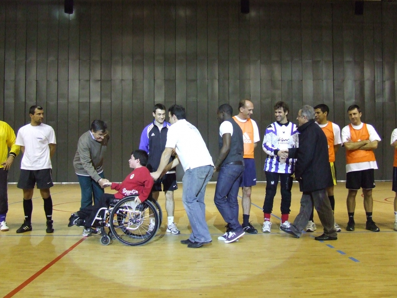 Futsal spot poursuite