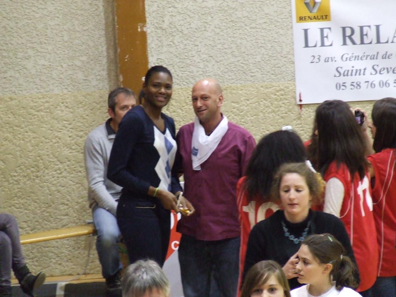 Muriel Hurtis et Nicolas