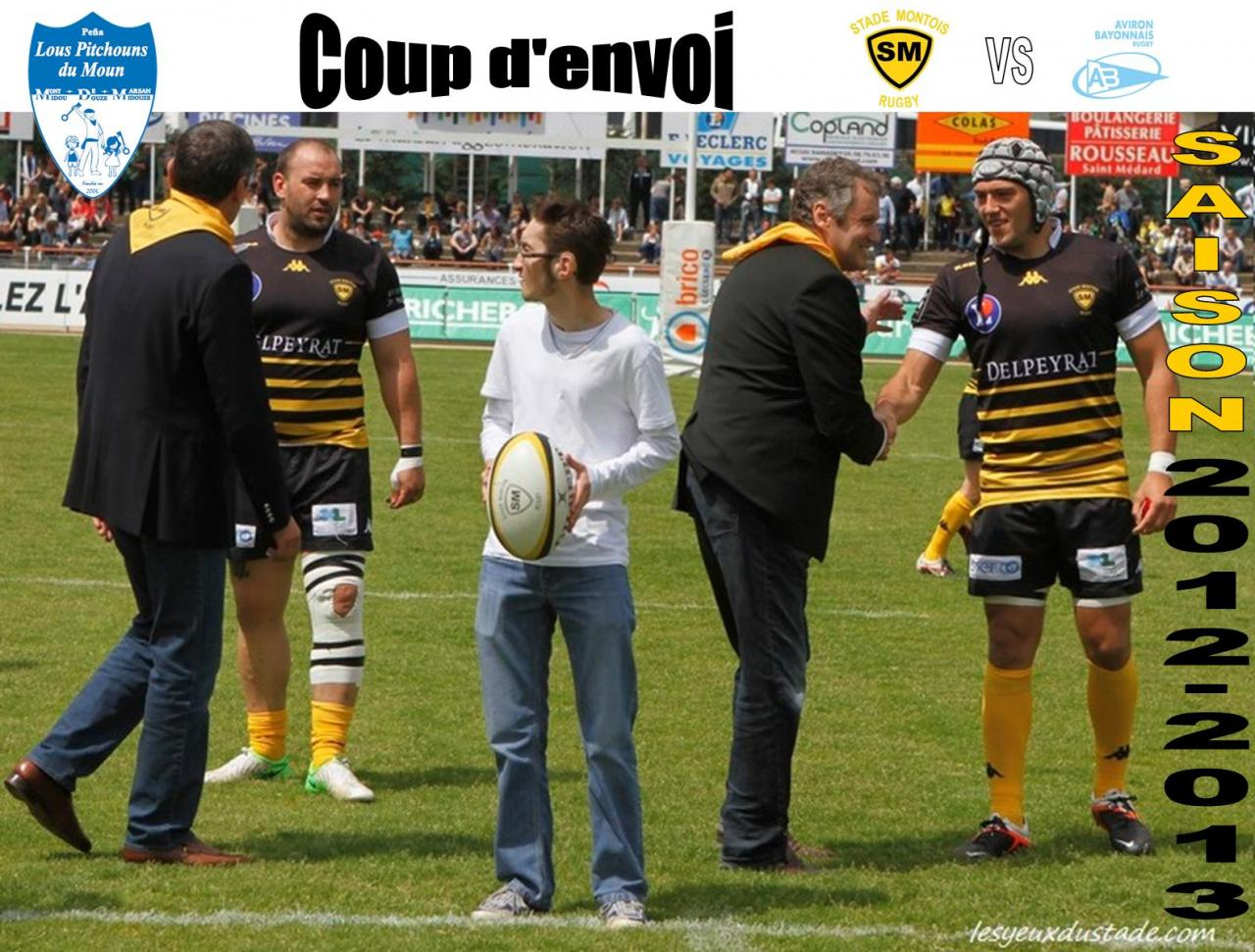 Coup d'envoi Rugby 04/05/13