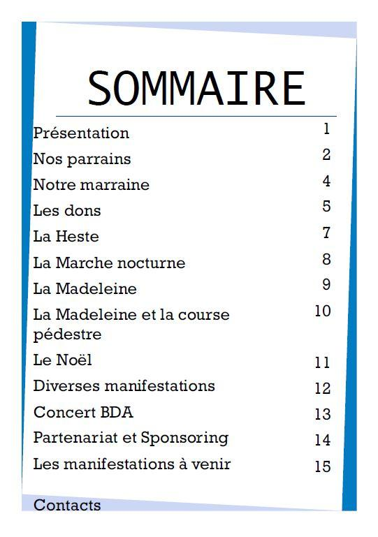 3sommaire